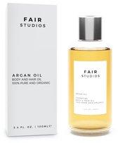 Moroccan Gold Arganolie - 100% Biologisch - 100% Puur - FAIR Studios Originals - Argan Olie voor Haar, Huid en Gezicht - Koudgeperst - 100ML - Gezichtsverzorging - Etherische Olie - Argan Oil