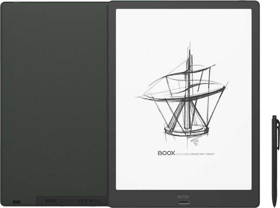 "ONYX BOOX MAX 3 e-reader - Zwart, 13.3"" e-inkt flexibel display, Android 9, Play Store, Octa Core - + Wacom Stylus  + Screenprotector"