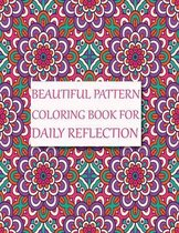 Beautiful Pattern Coloring Book for Daily Reflection