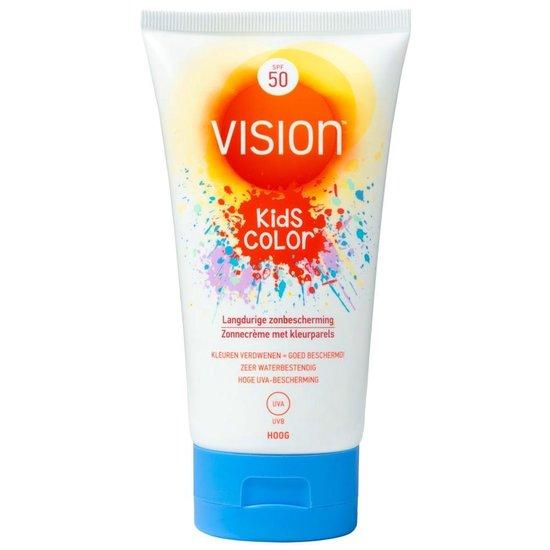 Vision Kids Color - Kind - Zonnebrandlotion - SPF 50 - 150 ml