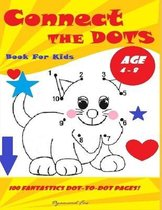 Connect The Dots Book For Kids Ages 4 - 8