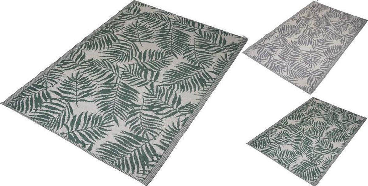 Hortus Forcia - Buiten vloerkleed Grijs - Buitentapijt - Buitendecoratie - 120x180cm - Campingkleed