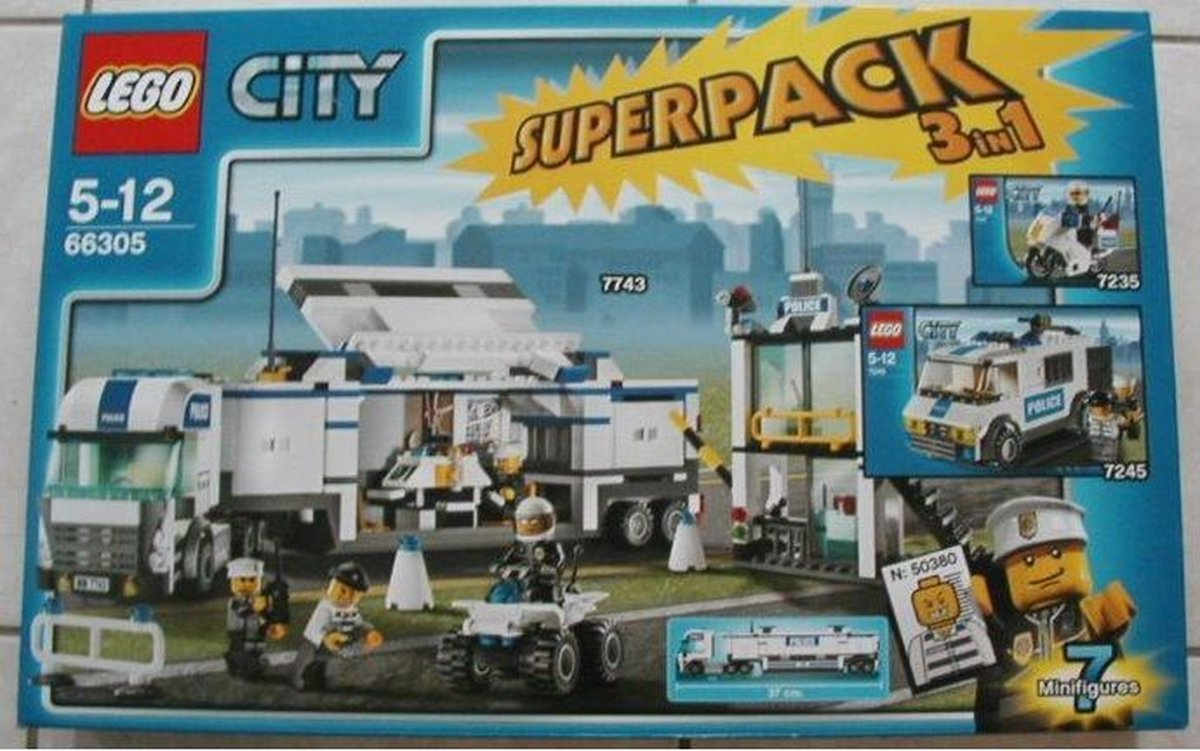 LEGO Police Value Pack - 66305