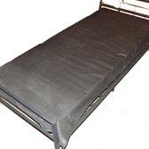 Rubber laken - bedzeil - zwart natuurrubber - 90 x 200 cm