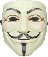 Lichtgeel V for Vendetta Masker / Lichtgeel Anonymous Masker / Lichtgeel Guy Fawkes Masker