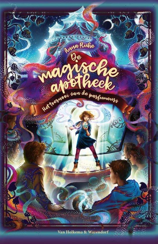 Boek cover De magische apotheek 4 - De magische apotheek - Het toernooi van de parfumeurs van Anna Ruhe (Hardcover)