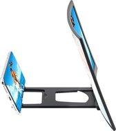 Schermvergroter smartphone - schermvergroter telefoon - vergrootglas voor smartphone - schermvergroter voor smartphone - 12 inch beeldschermvergroter