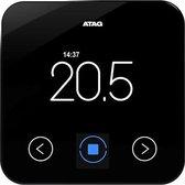Atag, Slimme thermostaat, tweedraads, modulerend, 0-50'C graden, digitaal, weerstandsopnemer, 24V, 102 x 18 x 102mm (BxDxH), zwart