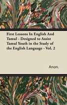First Lessons In English And Tamul