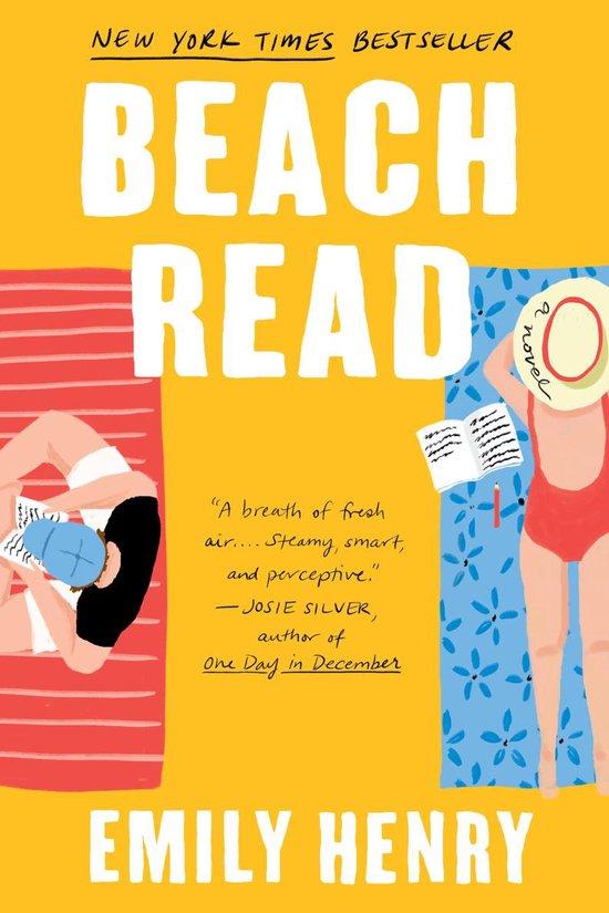 Boek cover Beach Read van Emily Henry (Paperback)