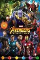 Avengers Infinity War Characters Poster 61x91.5cm