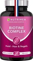 Biotine • Haar Nagels Huid • Vitamine B • Zink • 120 capsules - NUTRIMEA