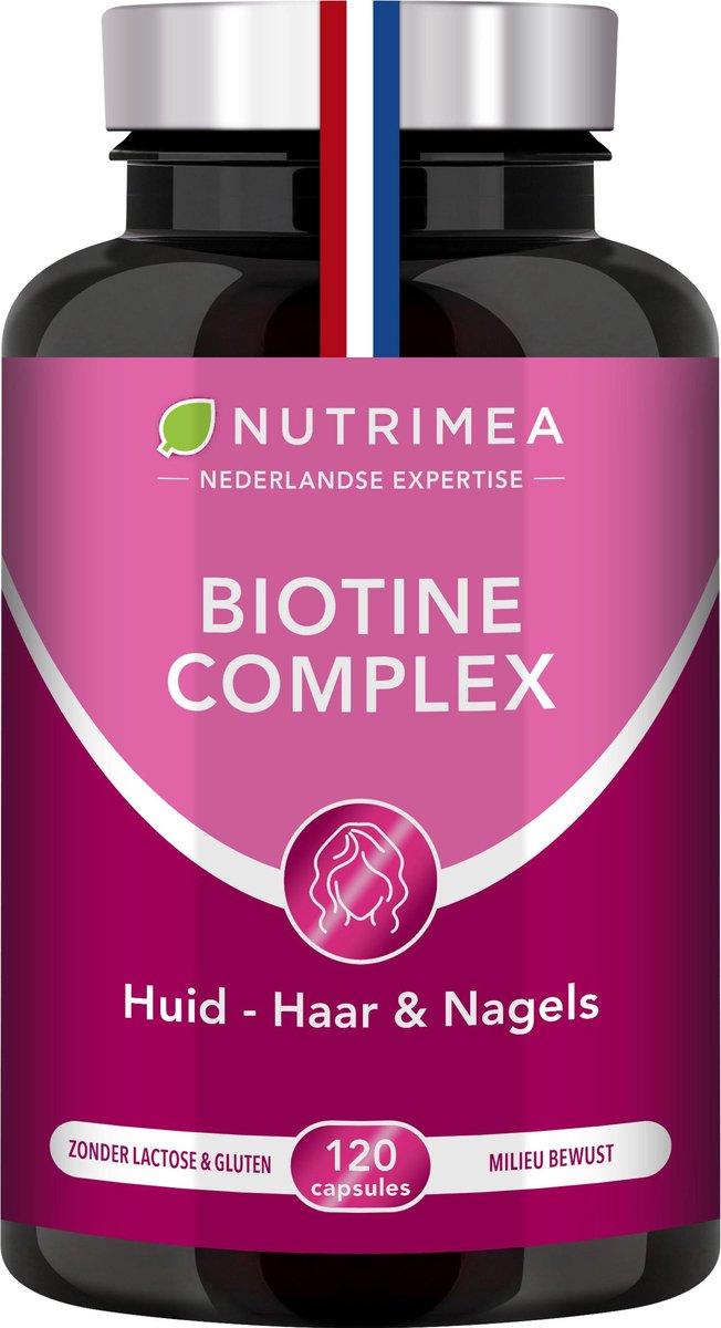Biotine   Haar Nagels Huid   Vitamine B   Zink   NUTRIMEA   120 caps