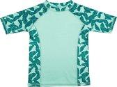 Ducksday - UV-werend Zwemshirt korte mouw voor kinderen - unisex - Epic - 92/98