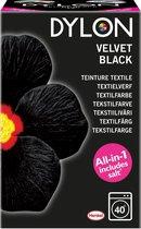 Dylon Textielverf 350g Zwart Velvet Black (all-in met zout)