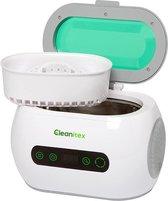 Cleanitex CXH06 - 0,6 liter   Professionele ultrasoon reiniger met een krachtige reiniging (Ultrasoonbad, ultrasoon baden, reinigingsbad, ultrasone reiniger, reinigers, ultrasonic cleaner, brillen apparaat, pedicure)