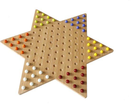 Thumbnail van een extra afbeelding van het spel Ster Halma bord