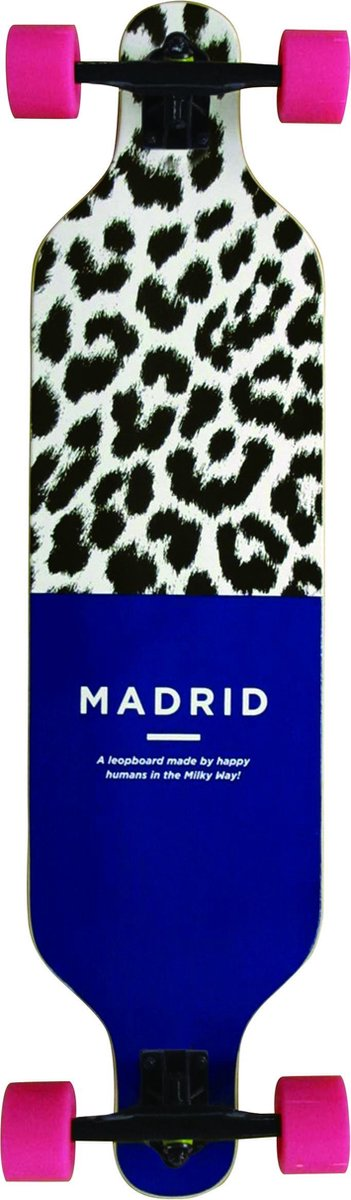 """Madrid Trance 39"""" Top Mount Leopboard"""