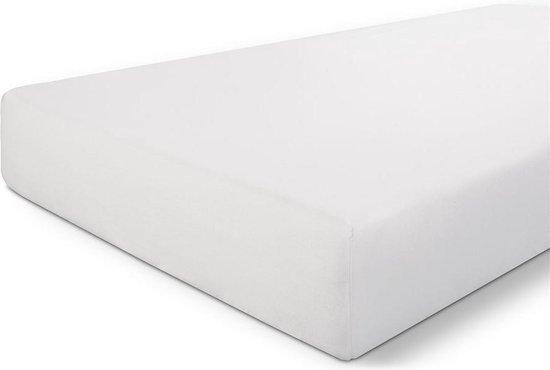 Walra Hoeslaken Crispy Cotton - Wit - 140x200