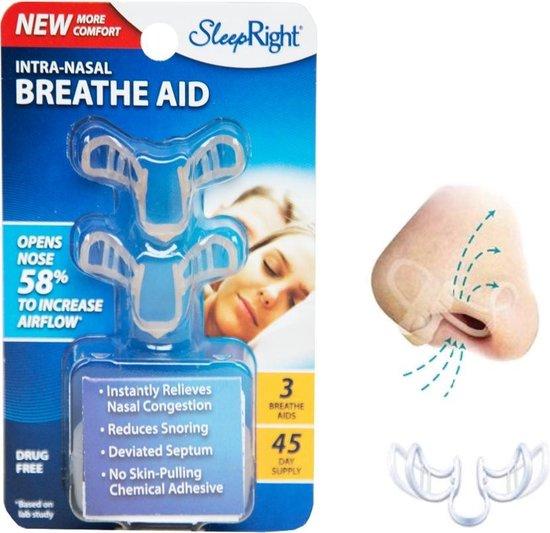 SleepRight Nasal Breathe Aid - Neusspreider - 3 stuks