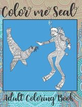 Color me Seal - Adult Coloring Book ✏️