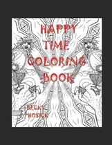 Happy Time Coloring Book