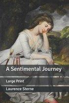 A Sentimental Journey: Large Print
