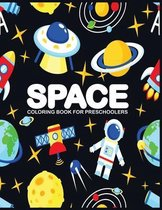 Space Coloring Book for Preschoolers