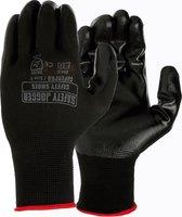 Tuinhandschoen Spro   maat XL Heren / Dames   Safety Jogger   werkhandschoen zwart - maat 10 XL   Tuinhandschoenen – Klussen – Werken – Bouw – Handschoenen – Maximale grip –