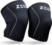 ZEUZ® 2 Stuks Premium Knie Brace voor Fitness, Crossfit & Sporten – Knieband - Braces – 7 mm - Maat L
