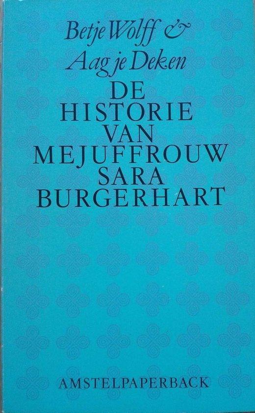 De historie van mejuffrouw Sara Burgerhart - Betje Wolff |