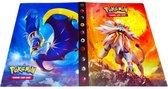 Pokemon verzamelmap 4 pocket - verzamelalbum voor 240 kaarten map