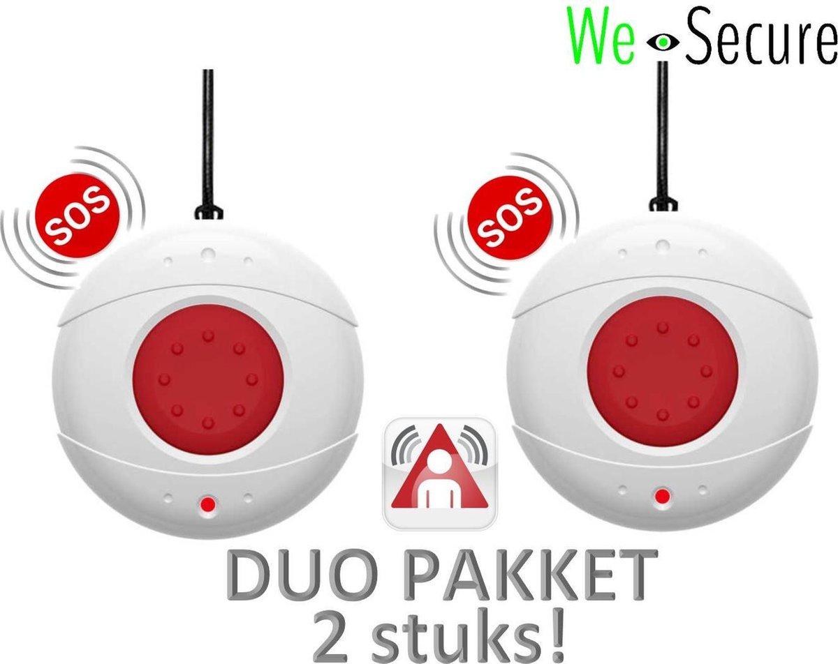 Duo set SOS draadloze melders voor de i-GUARD draadloze alarmsysteem