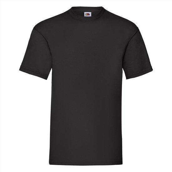 5 Stuks Fruit Of The Loom T-shirt Diverse Kleuren L