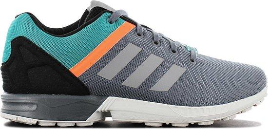 adidas Originals ZX Flux Split - Heren Sneakers Sportschoenen Schoenen  Grijs S79074 - Maat EU 45 1/3 UK 10.5