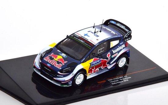 Afbeelding van Ford Fiesta WRC No.3, Rally Finland 2018 Suninen/Markkula 1-43 Ixo Models speelgoed
