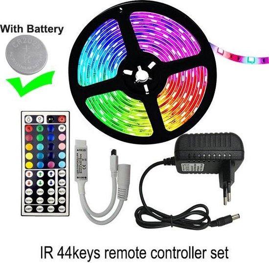 LED strip - verlichting - 5 meter - RGB - 5050 - met afstandsbediening - Waterproof - Consumentenwinkel.nl