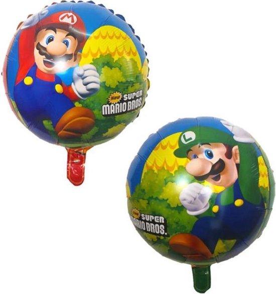 Super Mario Bros 18 inch Folie Ballon