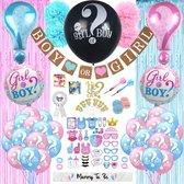 Partizzle® Gender Reveal Babyshower Party Versiering Set - Geslacht Baby Bekend Maken - Boy or Girl