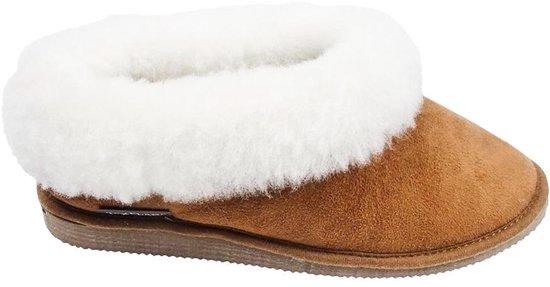 Texelana sloffen en pantoffels voor dames & heren - pantoffel van schapenvacht - model Pippa - maat 38