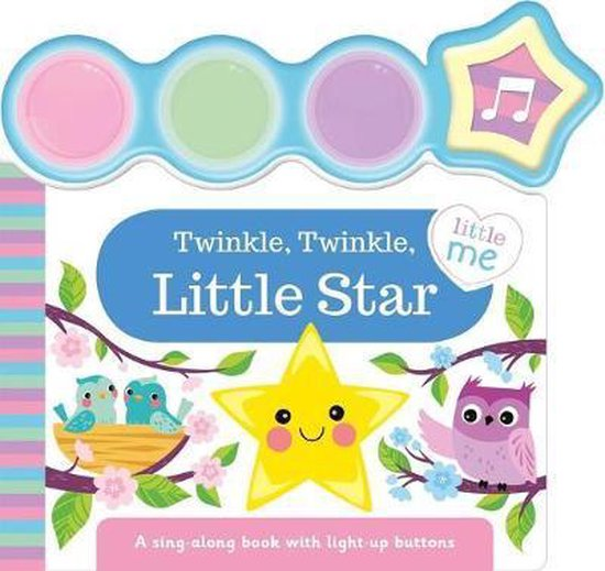 Boek cover Twinkle, Twinkle, Little Star van Igloobooks (Hardcover)