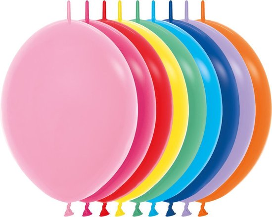 LinkOloon/ doorknoopballonnen | 30 cm/12 inch | feestversiering