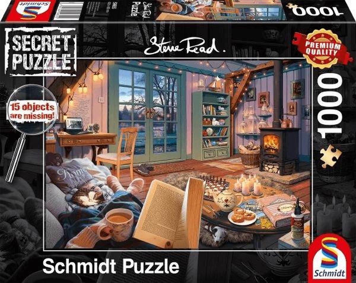 In het Vakantiehuisje, 1000 stukjes Puzzel