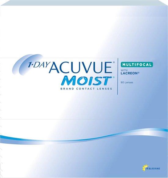 +2,75 - 1-DAY ACUVUE® MOIST MULTIFOCAL - Hoog - 90 pack - Daglenzen - Multifocale contactlenzen