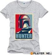 STAR WARS - T-Shirt Hunter Grey (XXL)