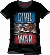 Captain America Cover Men T-Shirt - Black