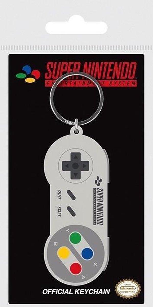 Gamer At Work Rubber Keychain Caution Sign - Merkloos