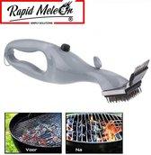 Bbq reiniger - Borstel Rooster Stoom Reiniger - Stoom Borstel - RVS - BBQ Schoonmaken - Rapidmeteor®
