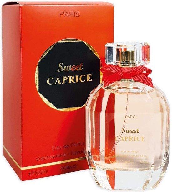 TOP AANBIEDING Sweet Caprice een zachte Oriëntaalse geur (Gardenia en Patchouli) met een GRATIS dames parfum.