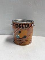 Delta-Langwerkzamelazuur-Waterdampdoorlaatbaare en UV-bestendige lazuur voor binnen en buiten. Geschikt voor alle hout bouwelementen-WIT-2.5L